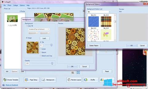 スクリーンショット CollageIt Windows 8版