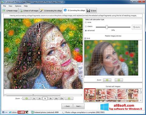 スクリーンショット Photo Collage Maker Windows 8版