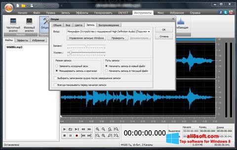 スクリーンショット AVS Audio Editor Windows 8版
