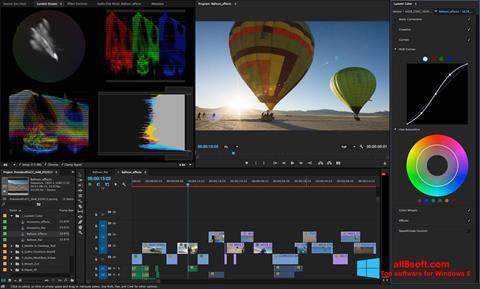 スクリーンショット Adobe Premiere Pro Windows 8版