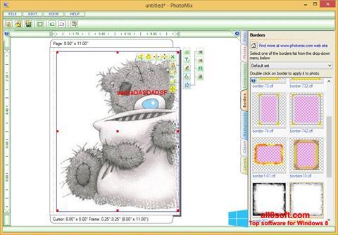 スクリーンショット PhotoMix Collage Windows 8版