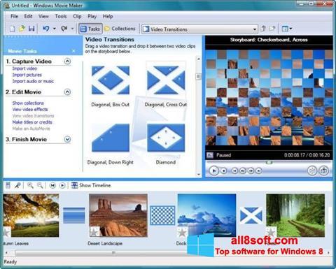 スクリーンショット Windows Movie Maker Windows 8版