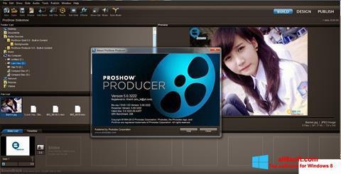 スクリーンショット ProShow Producer Windows 8版