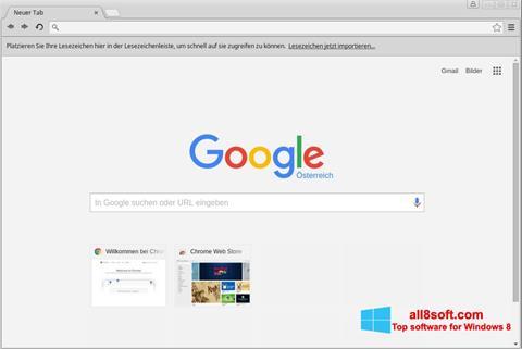 スクリーンショット Google Chrome Windows 8版