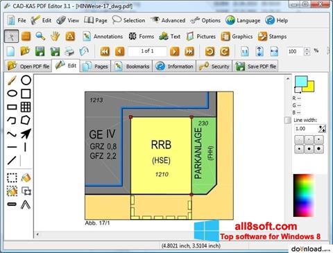 スクリーンショット PDF Reader Windows 8版